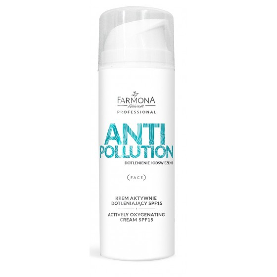 ANTI POLLUTION Actively oxygenating cream SPF15