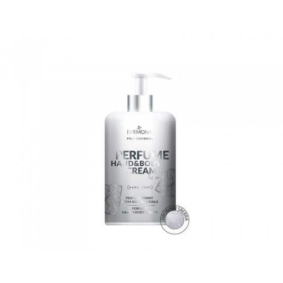 PERFUME HAND&BODY CREAM Silver 300ml