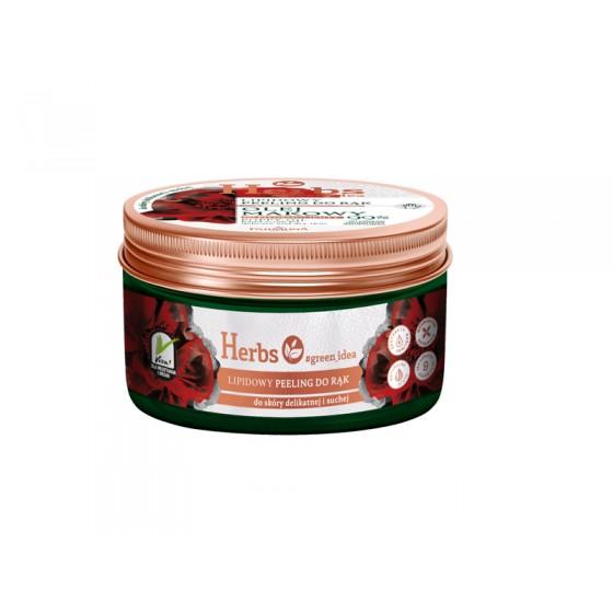 HERBS POPPY OIL Hand scrub for delicate and dry skin 100 gr.  HEM0039