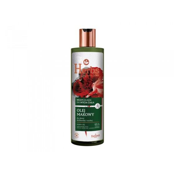 HERBS poppy oil bath &...