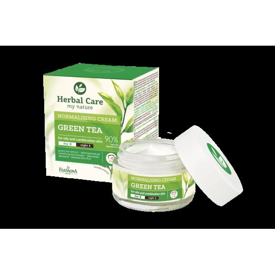 H.C. GREEN TEA Normalising...