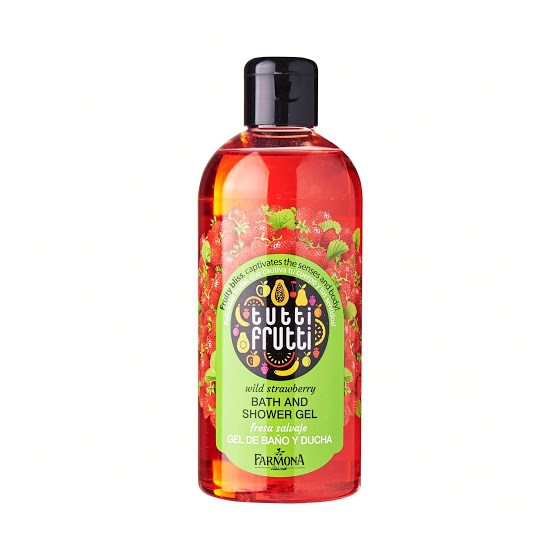 T.F. Wild strawberry bath & shower gel 300 ml.