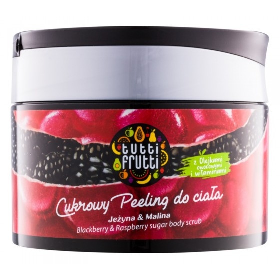 T.F. Body scrub blackberry...