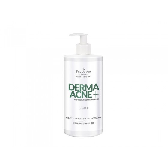 DERMAACNE+ PEAR FACE WASH GEL