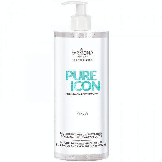 PURE ICON MULTIFUNCTIONAL MICELLAR GEL FOR FACIAL AND EYE MAKE-UP REMOVAL